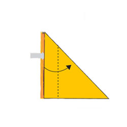 Лиса - оригами. Схема 4