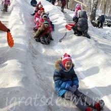 Пять зимних игр: «Салки со снежками», «Льдинка», «Черепахи» и другие